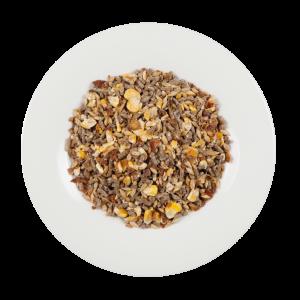 Naturbelassenes Futter aus Getreide